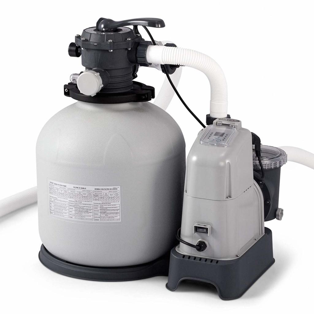 Intex Sand Filter Pump-Salt Water System