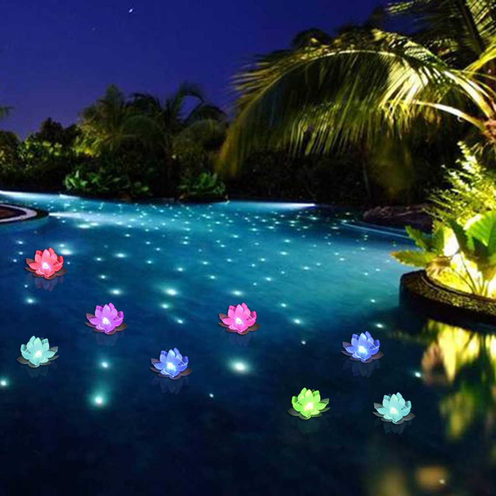LOGUIDE Floating Pool Light 5 Best Floating above Ground Pool Lights Review and Buying Guide